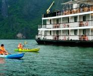 Cheo Thuyền Kayak của Du thuyền