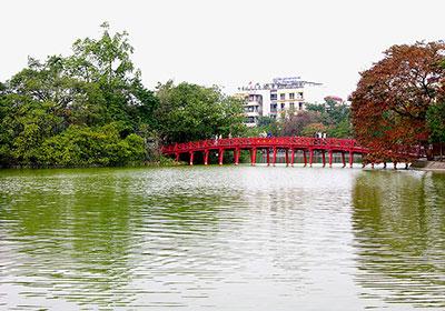 Cầu Thê Húc - Du Lịch Hà Nội
