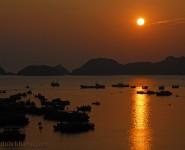 Ngắm Hoàng Hôn trên Đảo Cát Bà