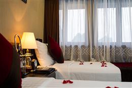 Phòng ngủ twin trong du thuyền Carina Hạ Long 3