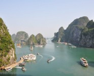 Ha Sung Sot viewed from Halong