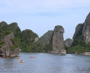 Halong Bay near Sung Sot Cave