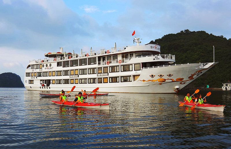 Du Thuyen Starlight Ha Long