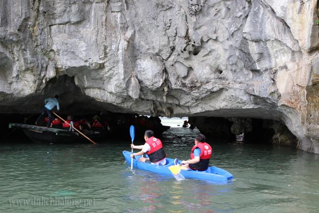 Cheo Kayak Vinh Ha Long