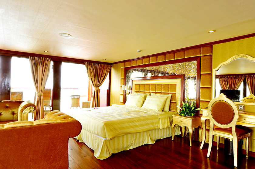 Cabin Du thuyen Golden Cruise