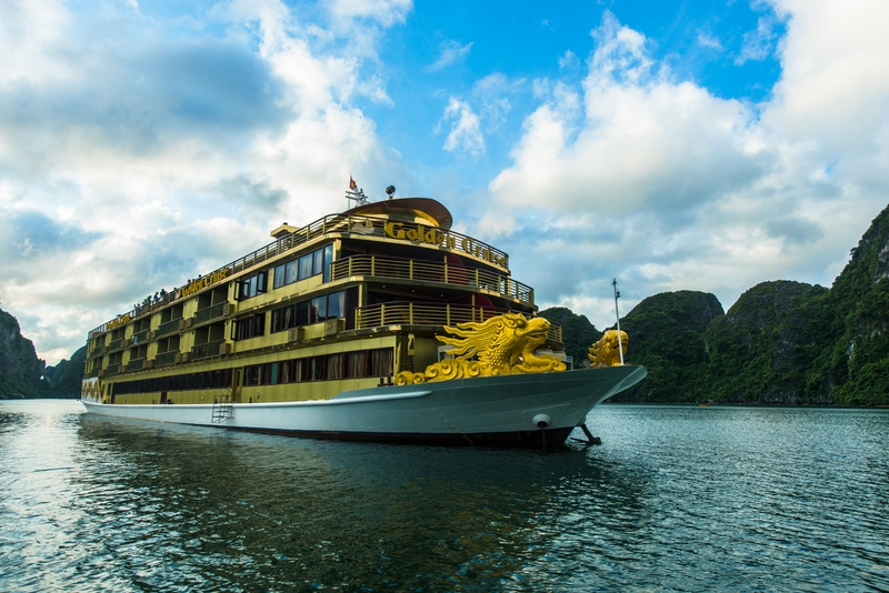Du thuyen Golden Cruise Ha Long