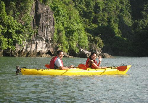Kayakking Du Thuyen Poseidon