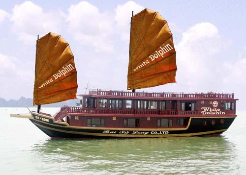 Du thuyền White Dolphin Hạ Long