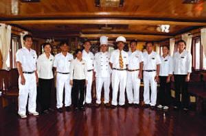 Thành viên trên Du Thuyền Jasmine