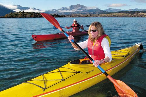 Chèo kayaking Du Thuyền Violet
